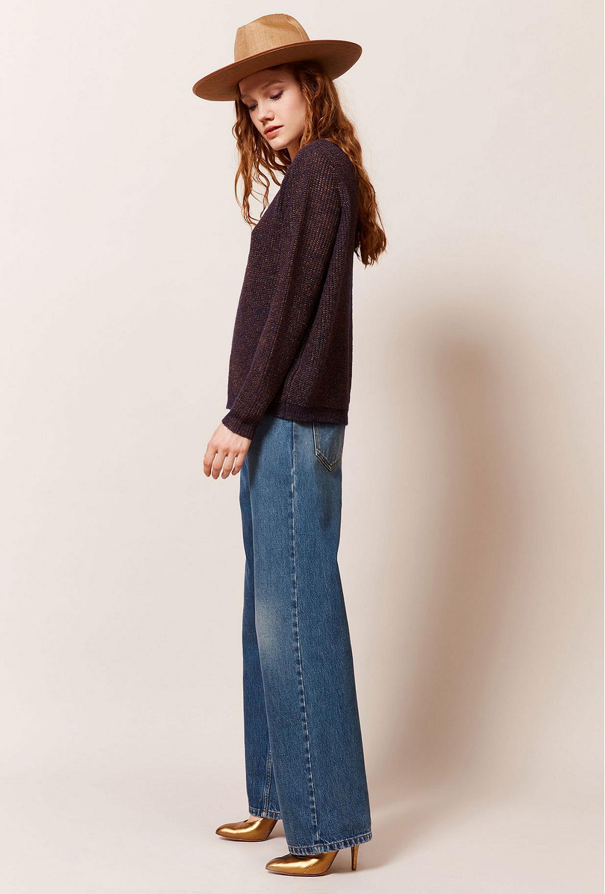 Paris boutique de mode vêtement Pull créateur bohème  Scorcese