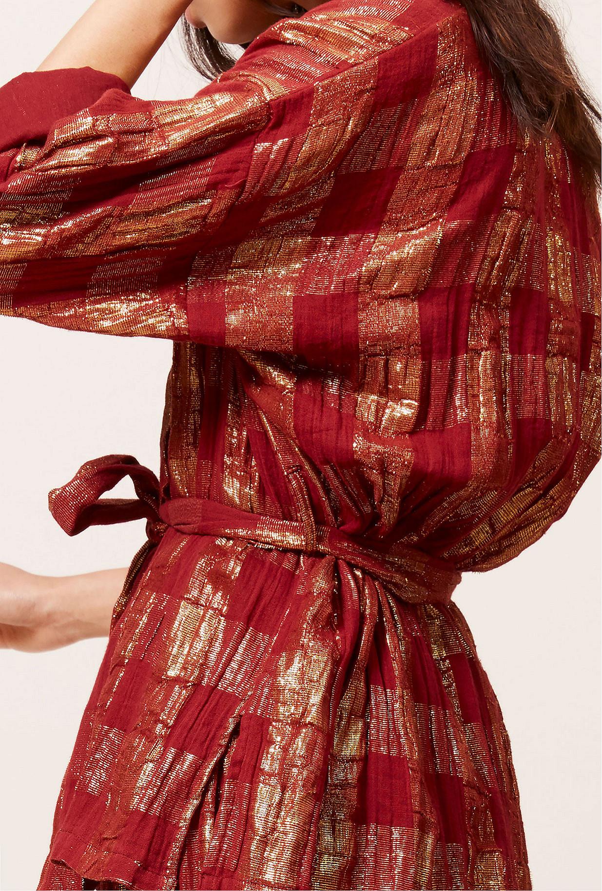 Red  Kimono  Magique Mes demoiselles fashion clothes designer Paris