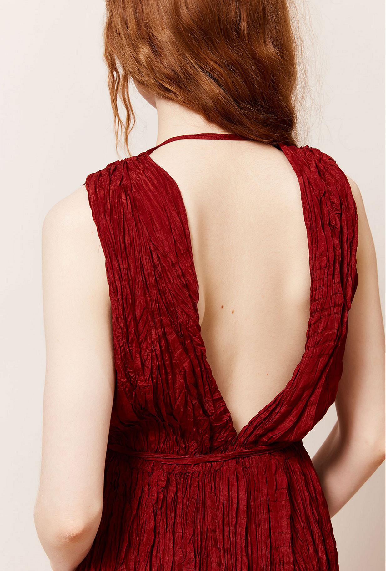 Red  Dress  Semsema Mes demoiselles fashion clothes designer Paris