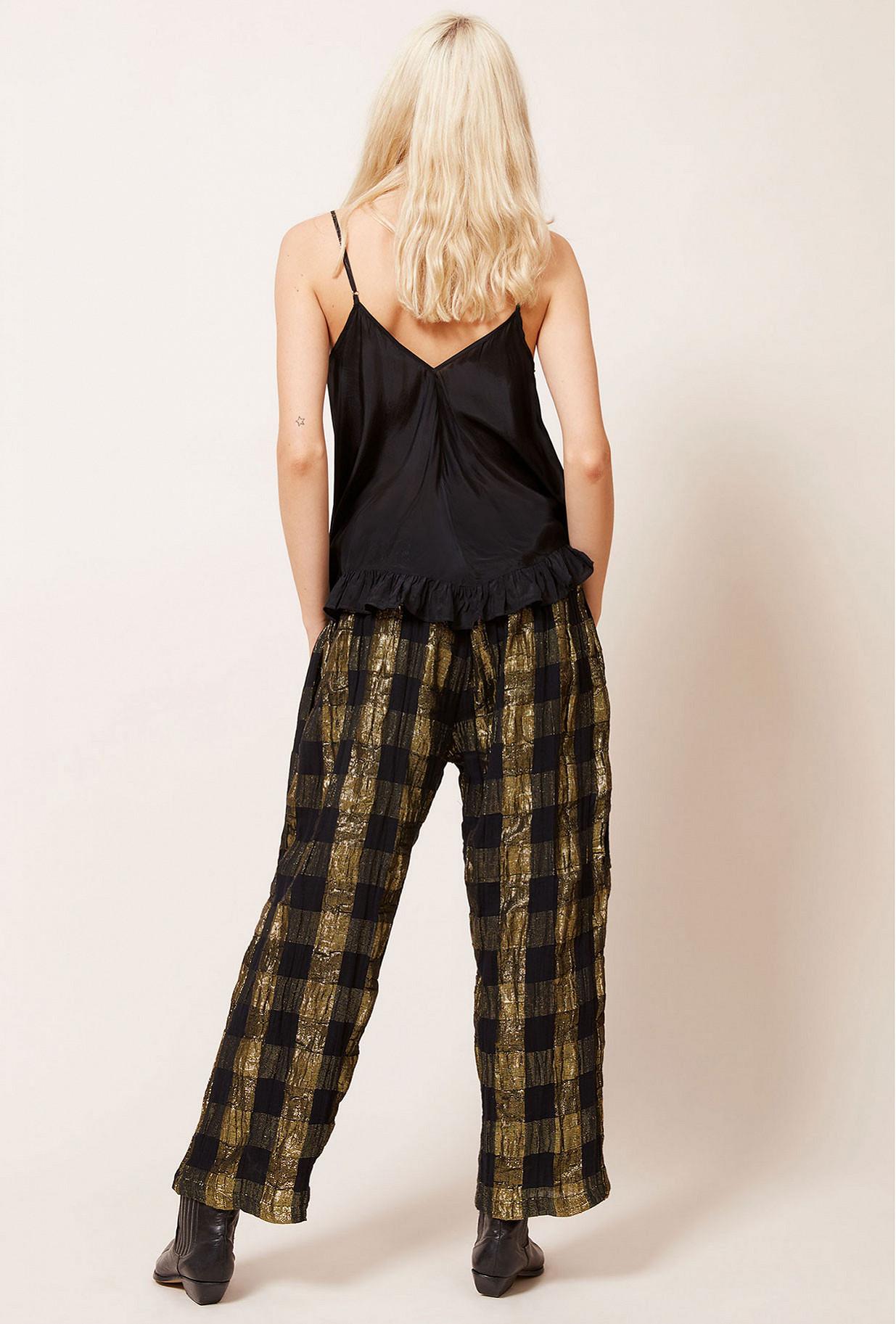Black  Pant  Majeste Mes demoiselles fashion clothes designer Paris