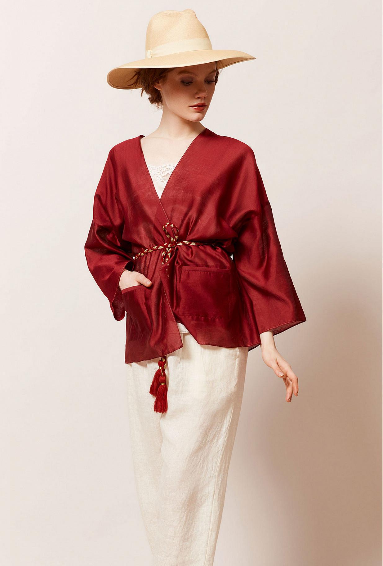 Kimono Rouge Opium Mes Demoiselles Paris