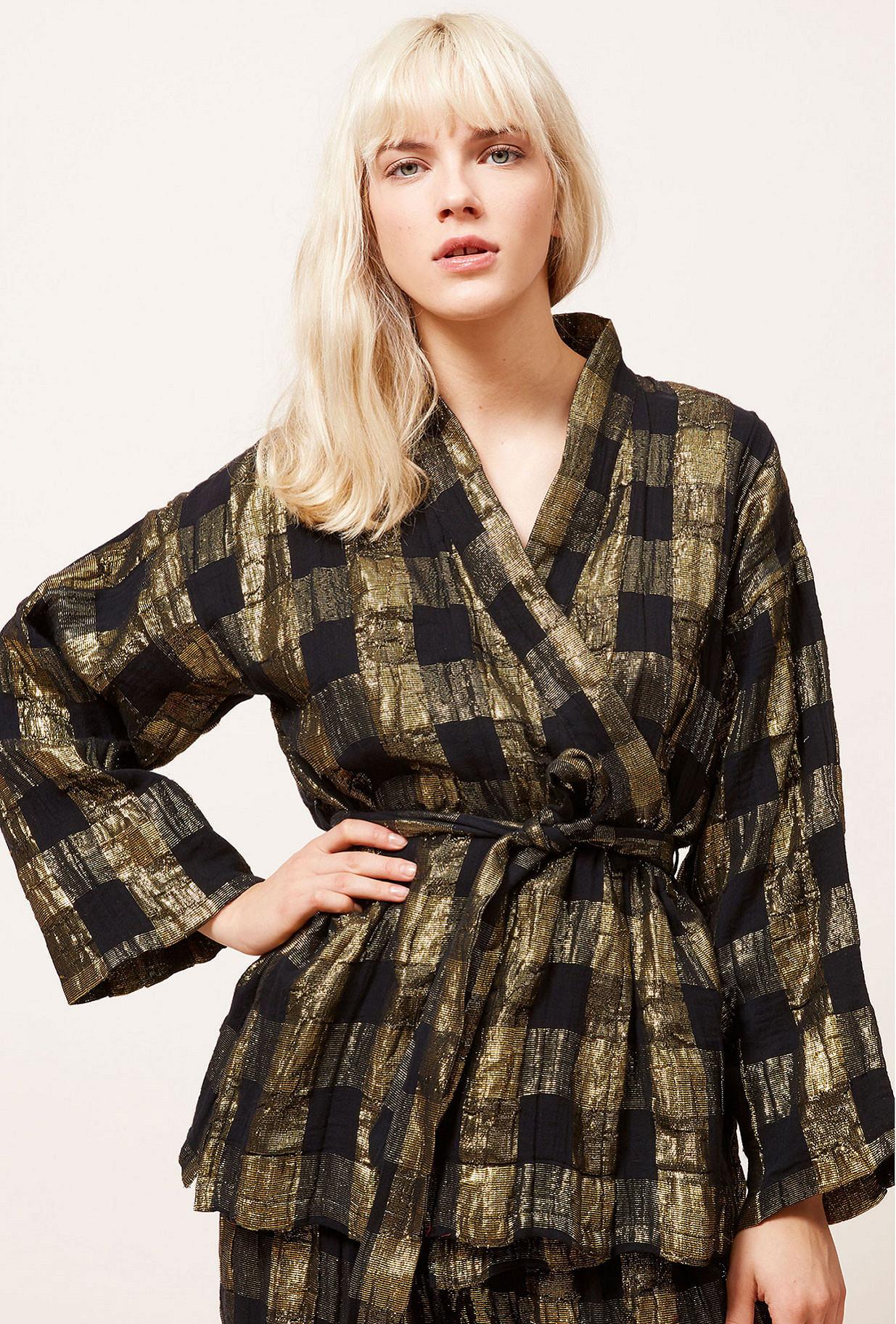 Kimono Noir Magique Mes Demoiselles Paris