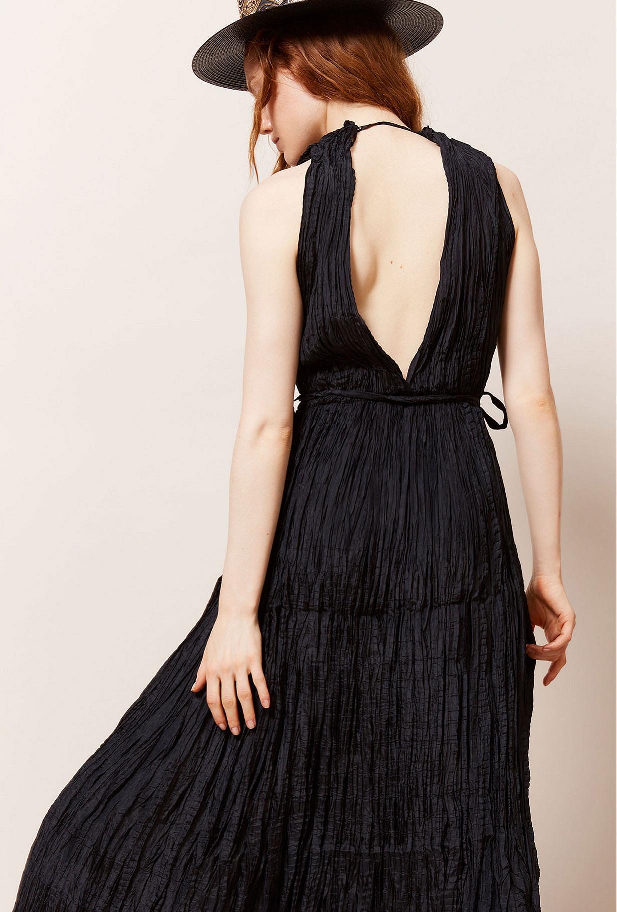 Robe Noir  Semsema mes demoiselles paris vêtement femme paris