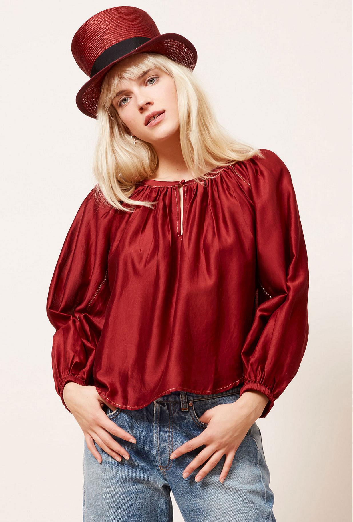 Paris clothes store Blouse  Onagre french designer fashion Paris
