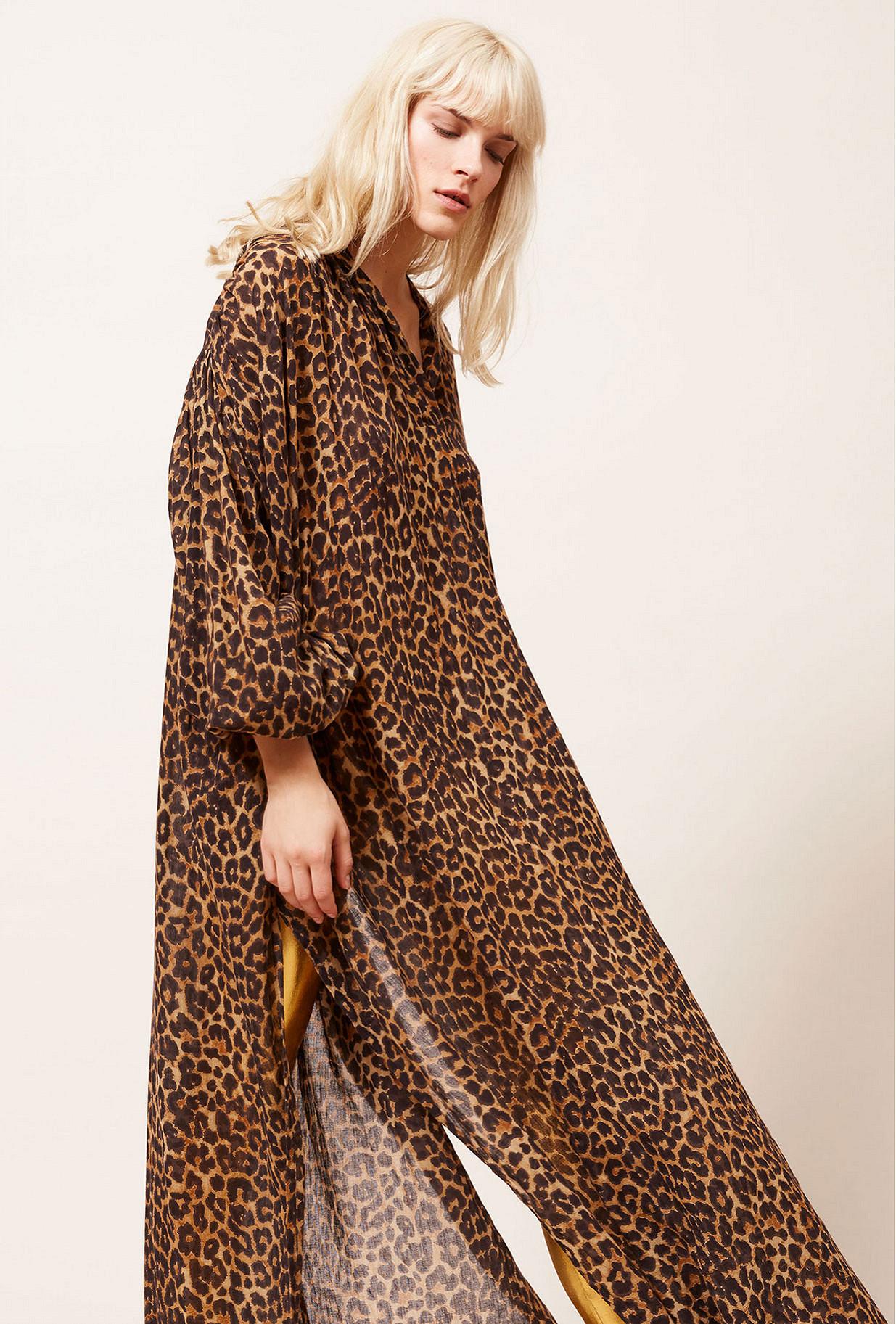 Panther print Dress Farouche Mes Demoiselles Paris