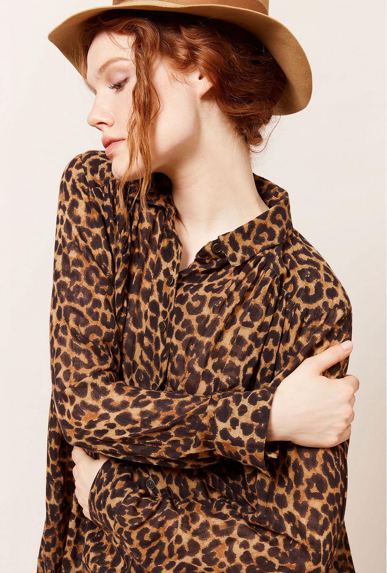 Paris clothes store Shirt  Feline french designer fashion Paris