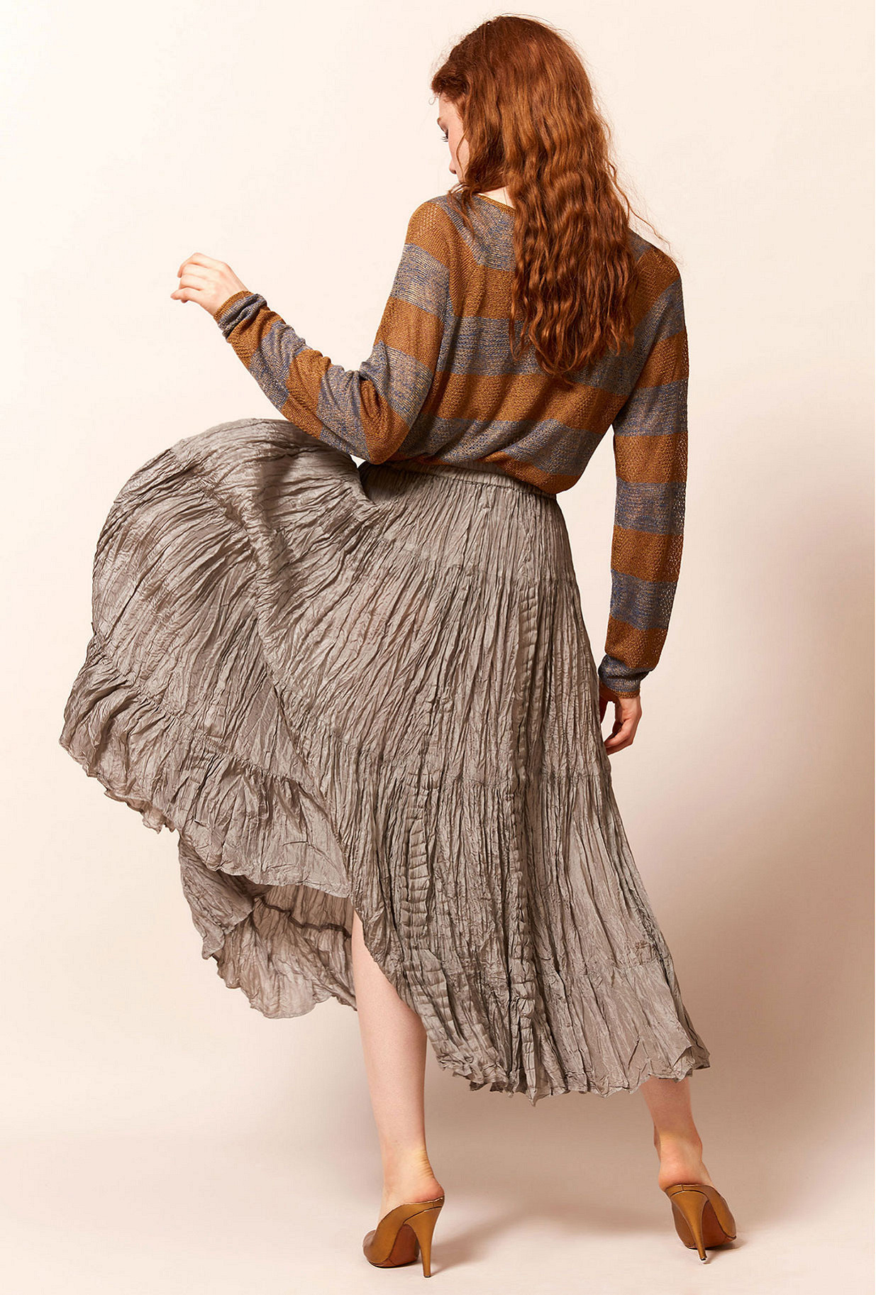 Platinum  Skirt  Shamadan Mes demoiselles fashion clothes designer Paris