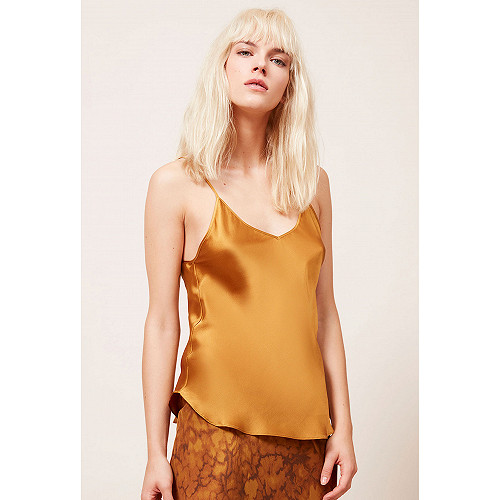 Ocre  Top  Native Mes demoiselles fashion clothes designer Paris