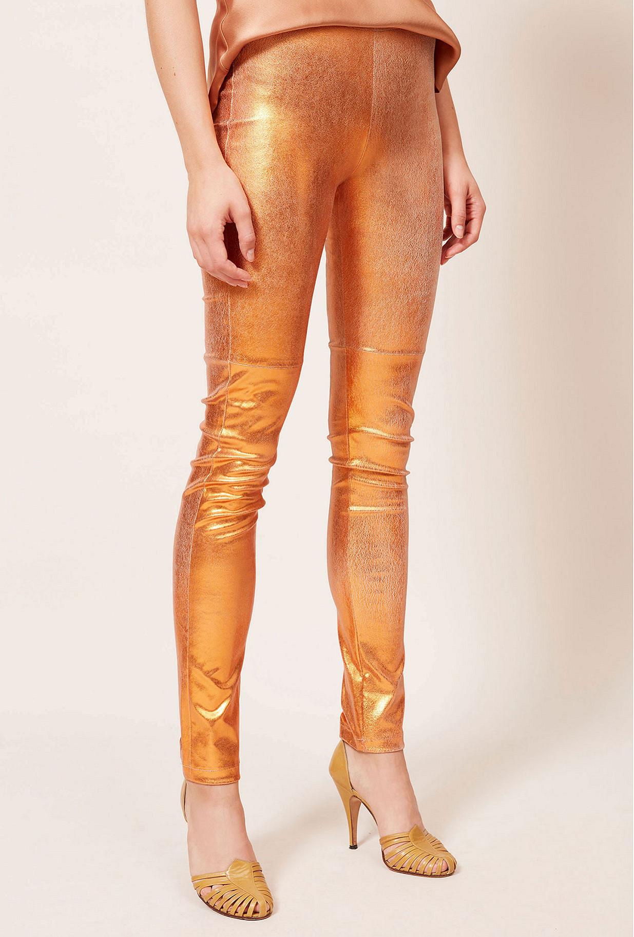 Orange Pant Esther Mes Demoiselles Paris