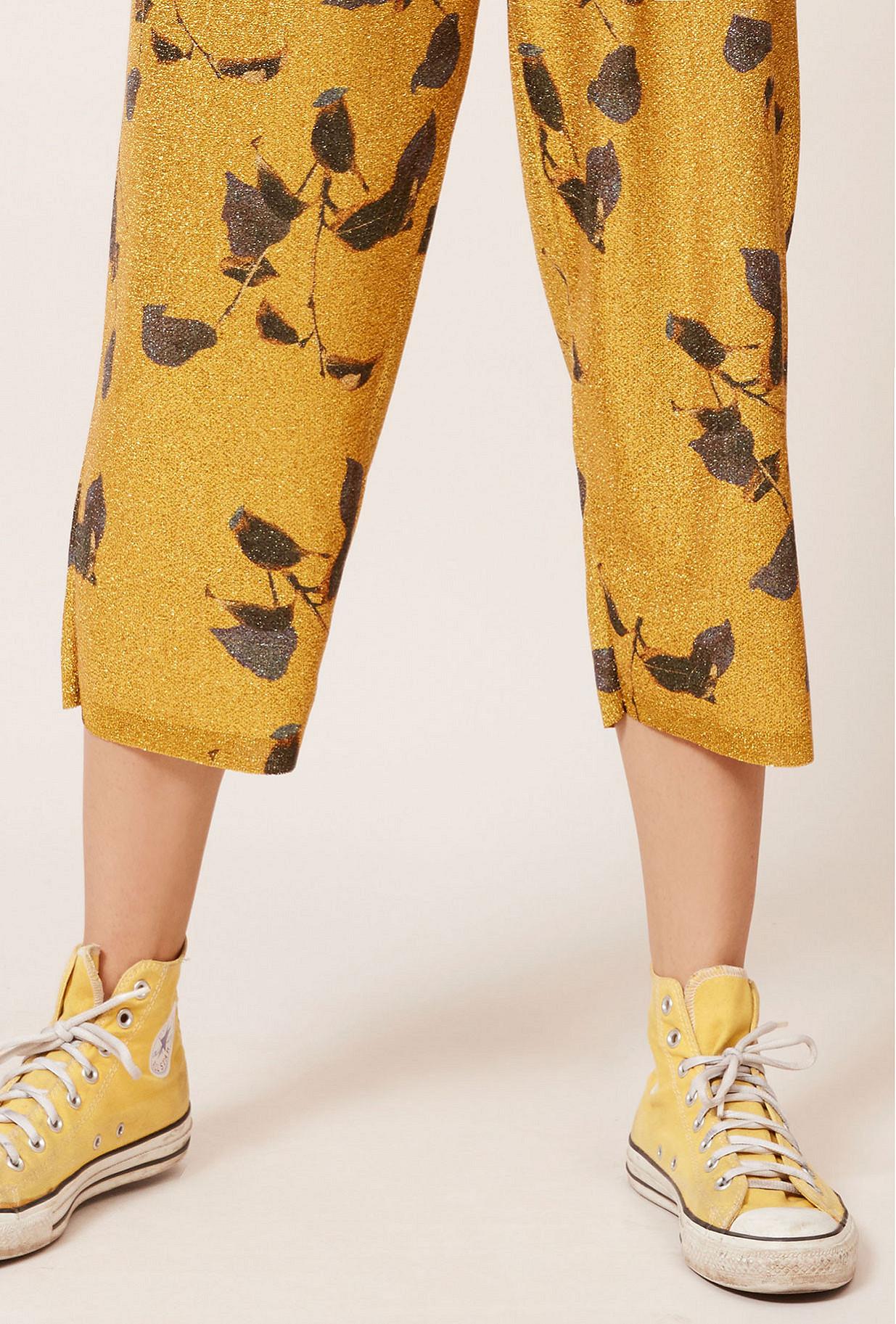 Gold  Pant  Gordon Mes demoiselles fashion clothes designer Paris