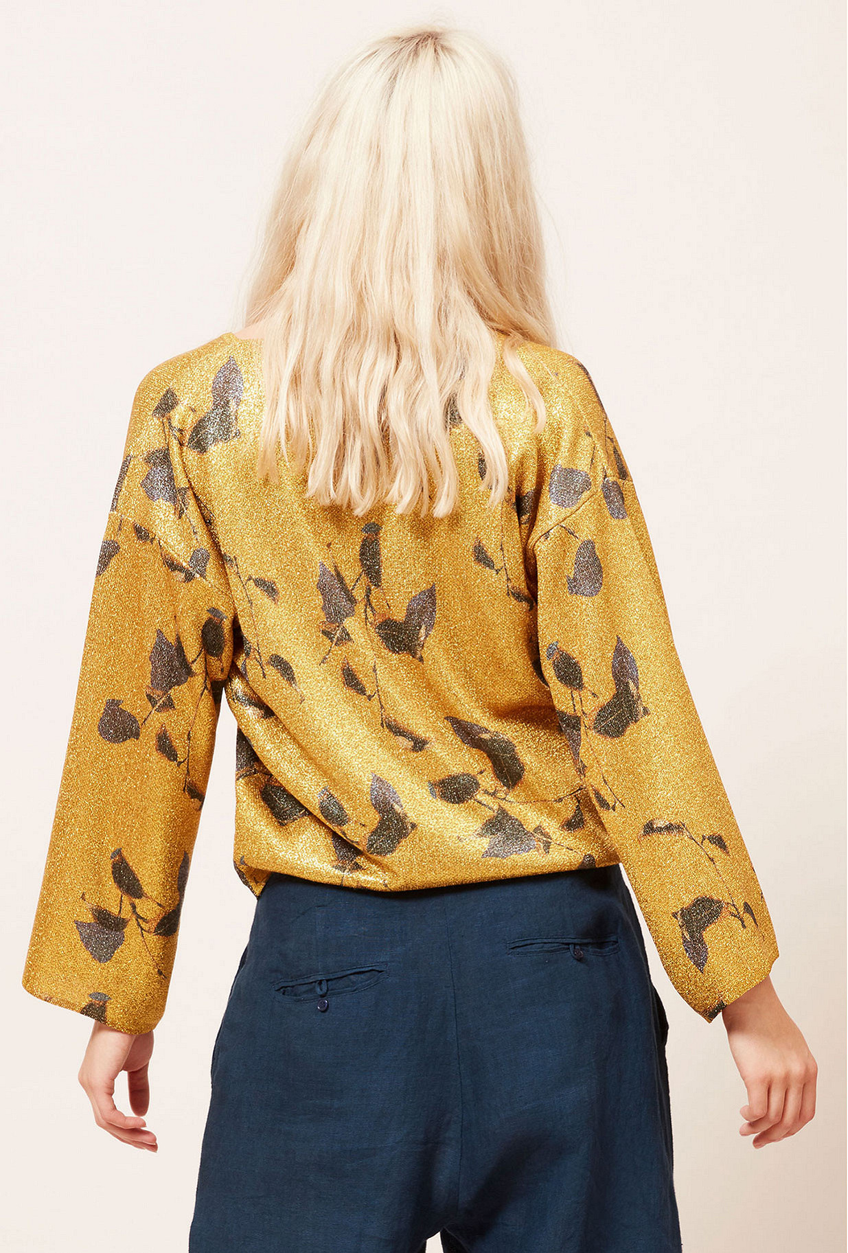 Gold Sweater Garfield Mes Demoiselles Paris