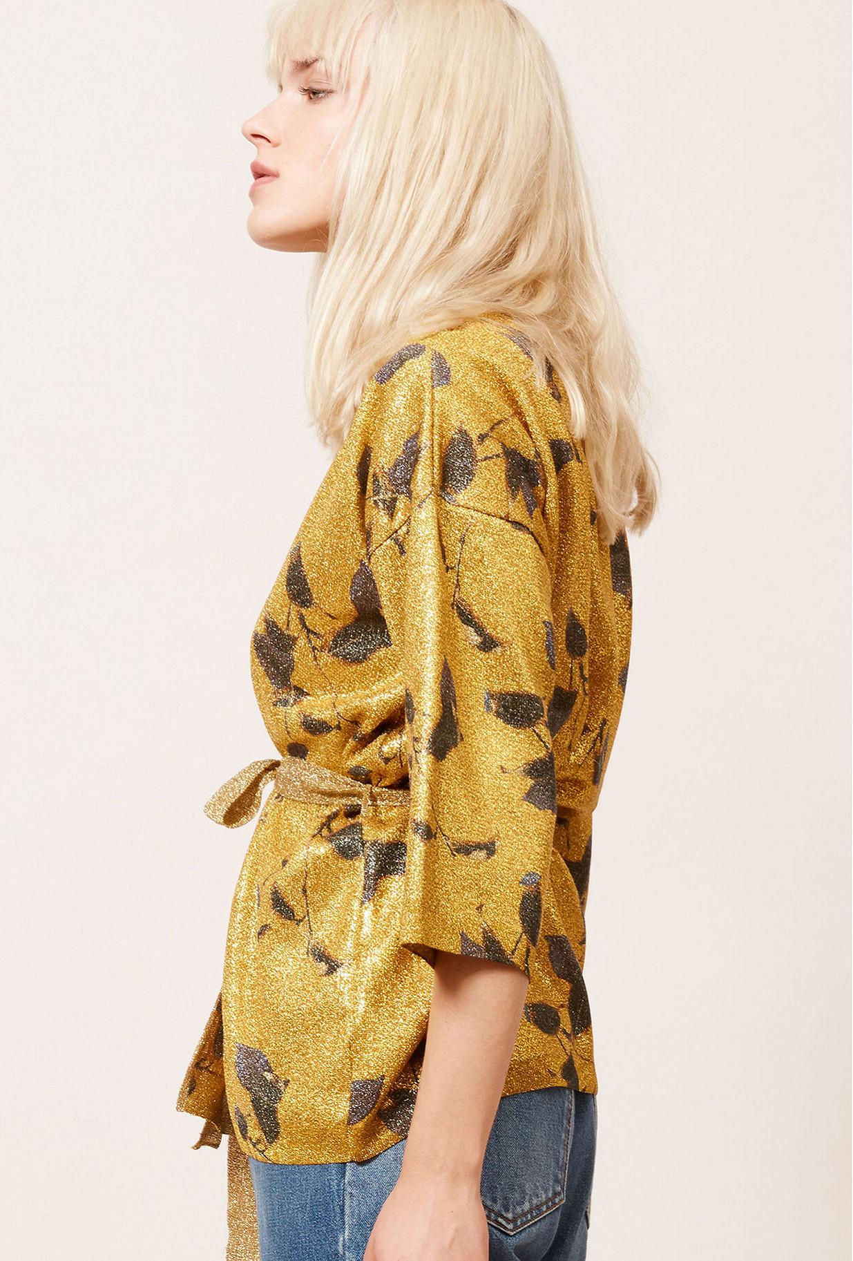 Kimono Or  Grimmy mes demoiselles paris vêtement femme paris
