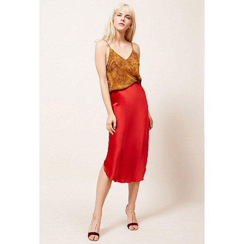 Red  Skirt  Nami Mes demoiselles fashion clothes designer Paris