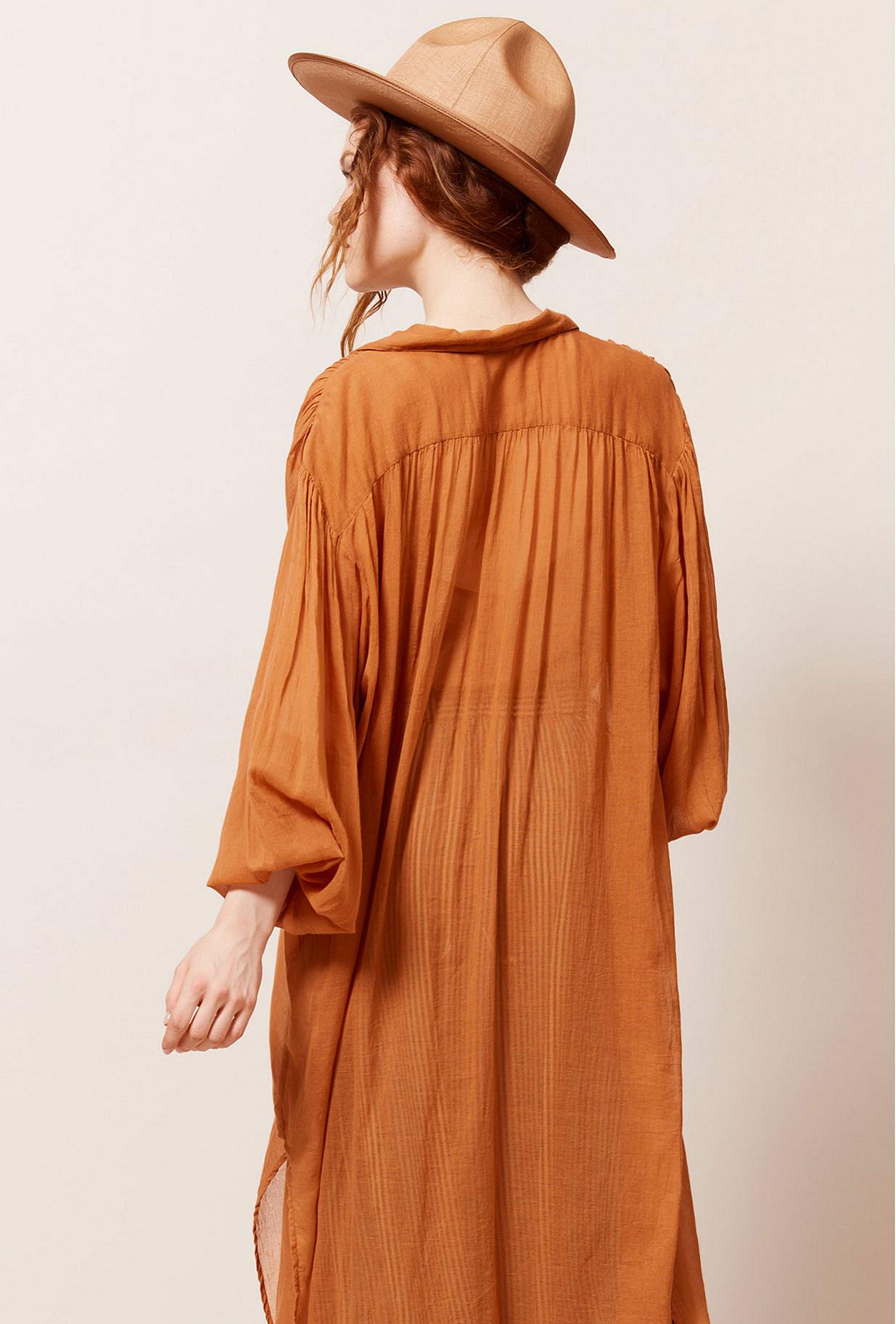 Terracotta Dress Oscar