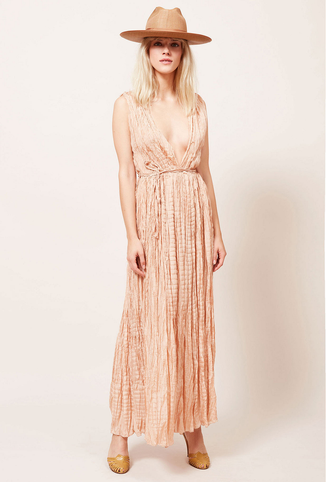 Nude  Dress  Semsema Mes demoiselles fashion clothes designer Paris