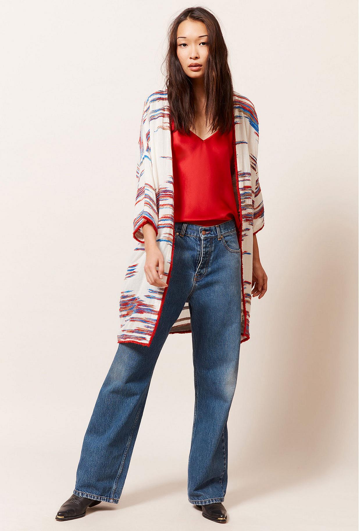 X  Jacket  Nicaragua Mes demoiselles fashion clothes designer Paris