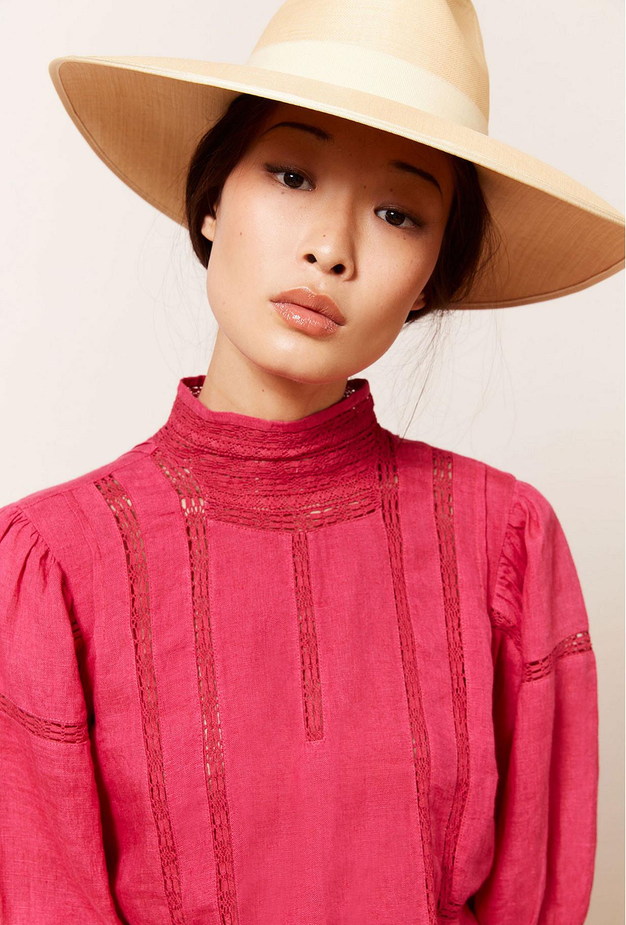 Fushia  Blouse  Byrds Mes demoiselles fashion clothes designer Paris