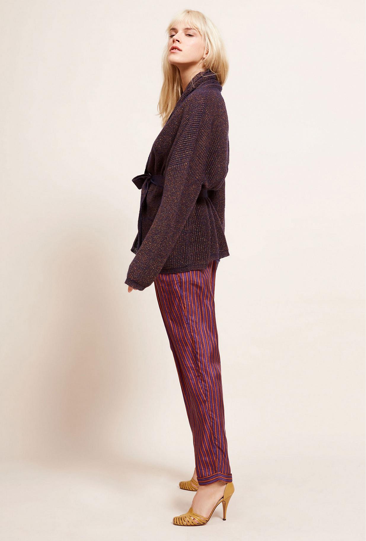 Paris clothes store Cardigan  Scapa french designer fashion Paris