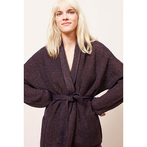 Night blue Cardigan Scapa