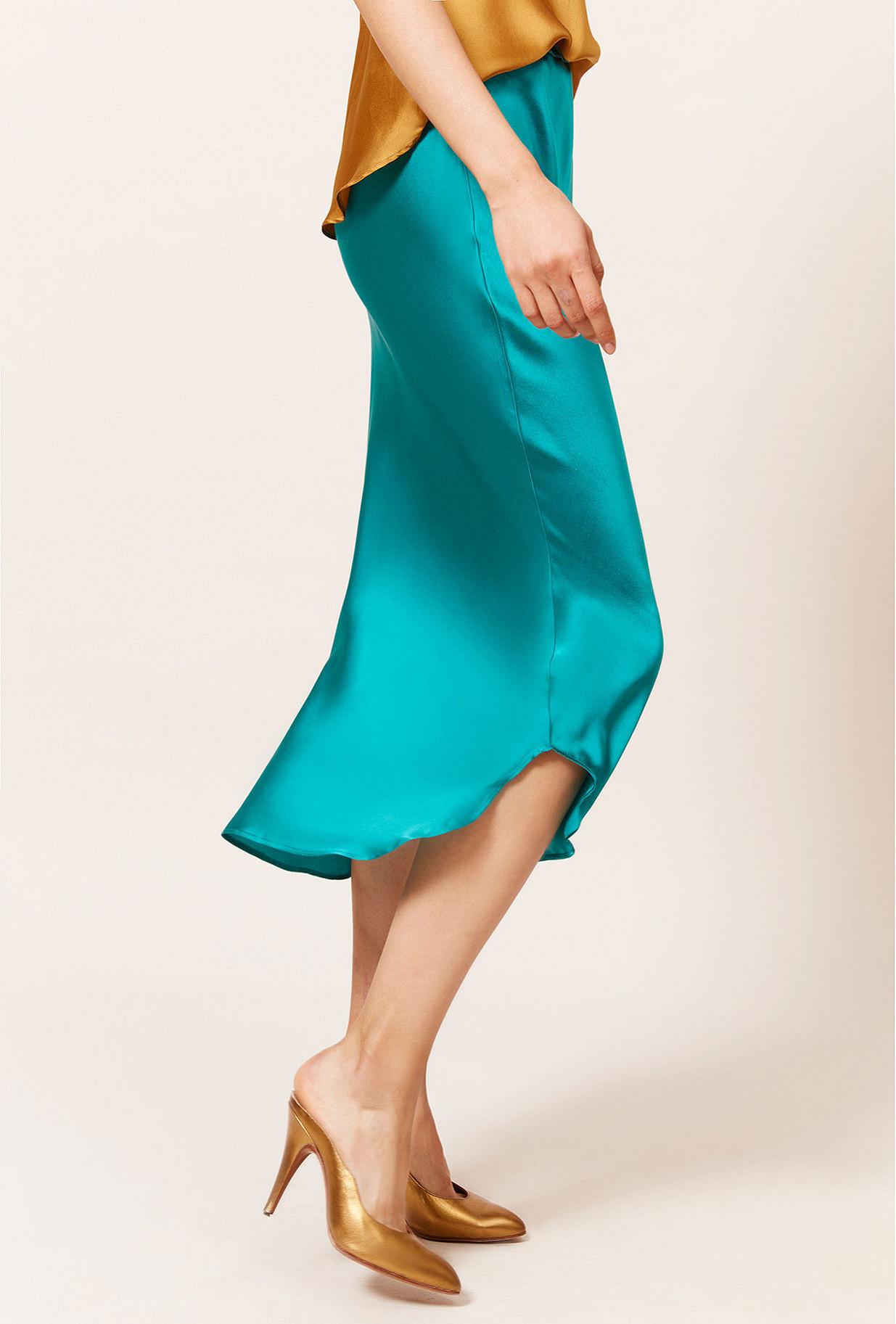 Turquoise Skirt Nami
