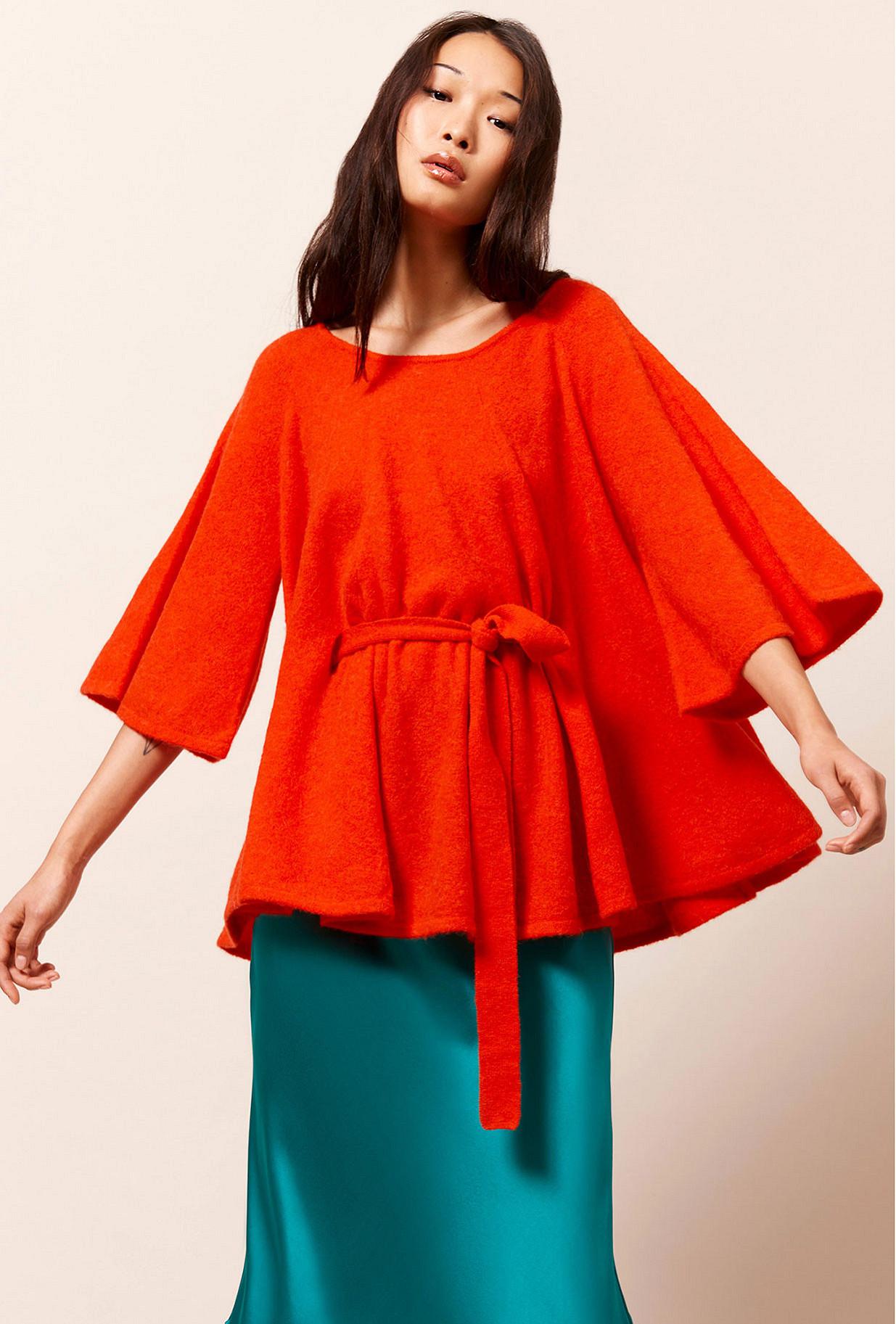 Coral Sweater Pampa Mes Demoiselles Paris