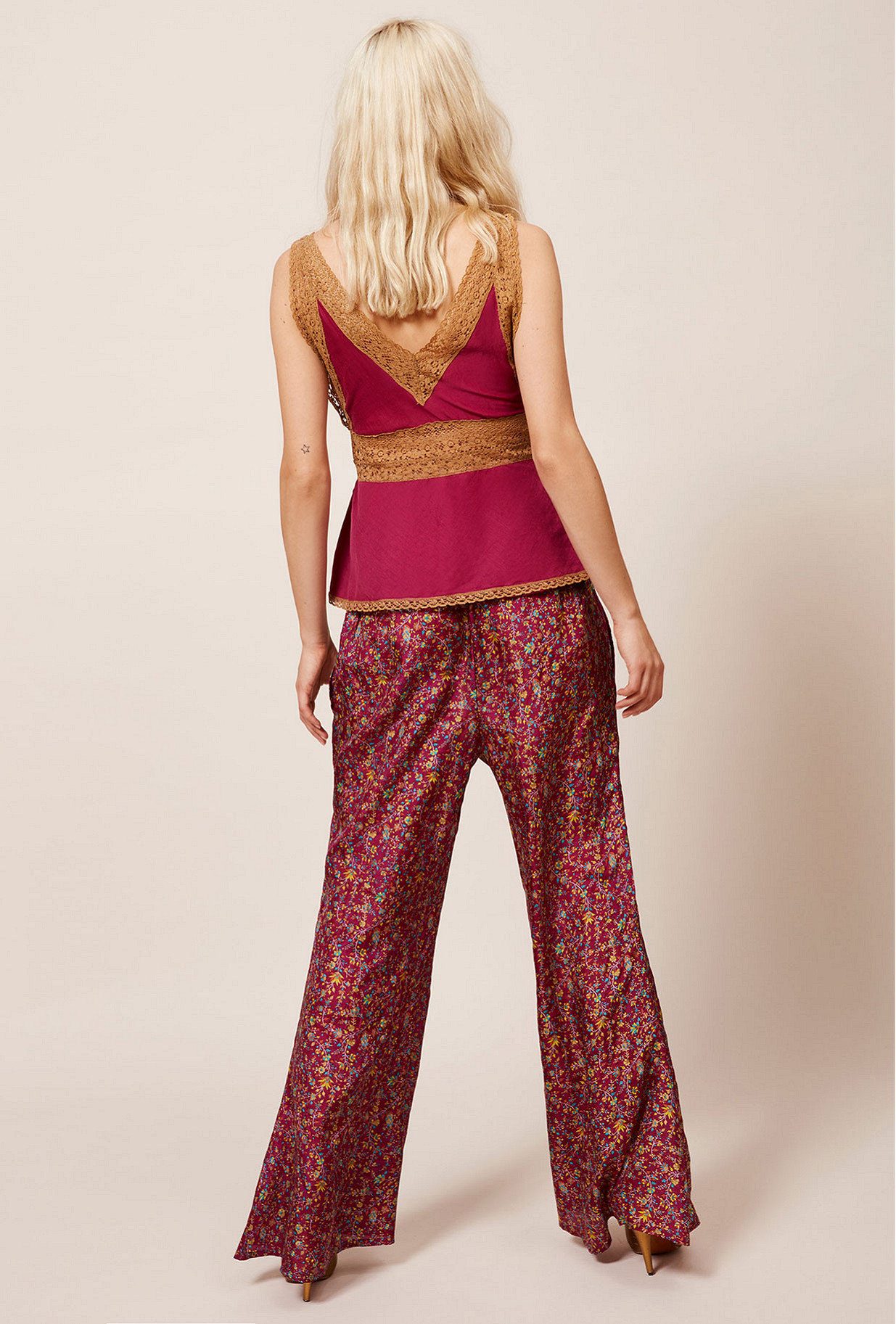 Fushia  Top  Gloria Mes demoiselles fashion clothes designer Paris