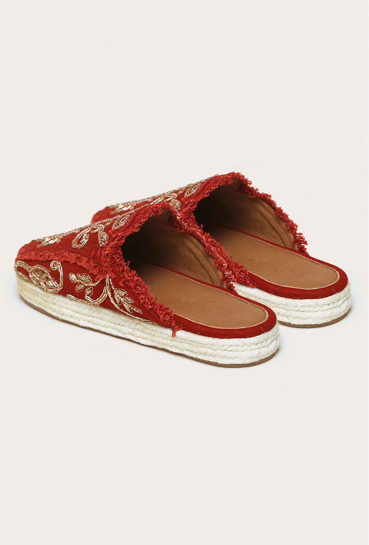 Sandales Rouge  Givseppe mes demoiselles paris vêtement femme paris