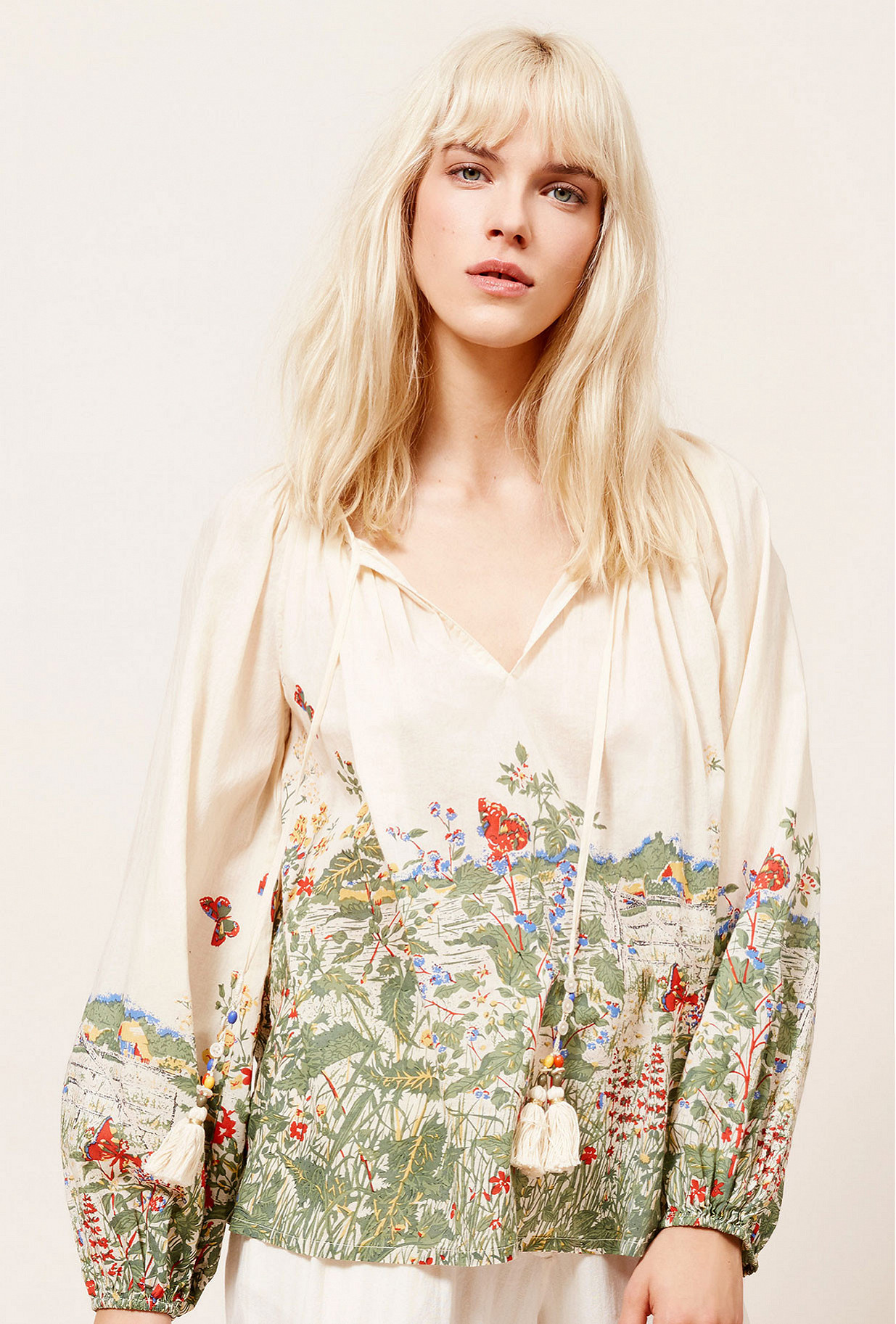 Paris clothes store Blouse Gwenael french designer fashion Paris