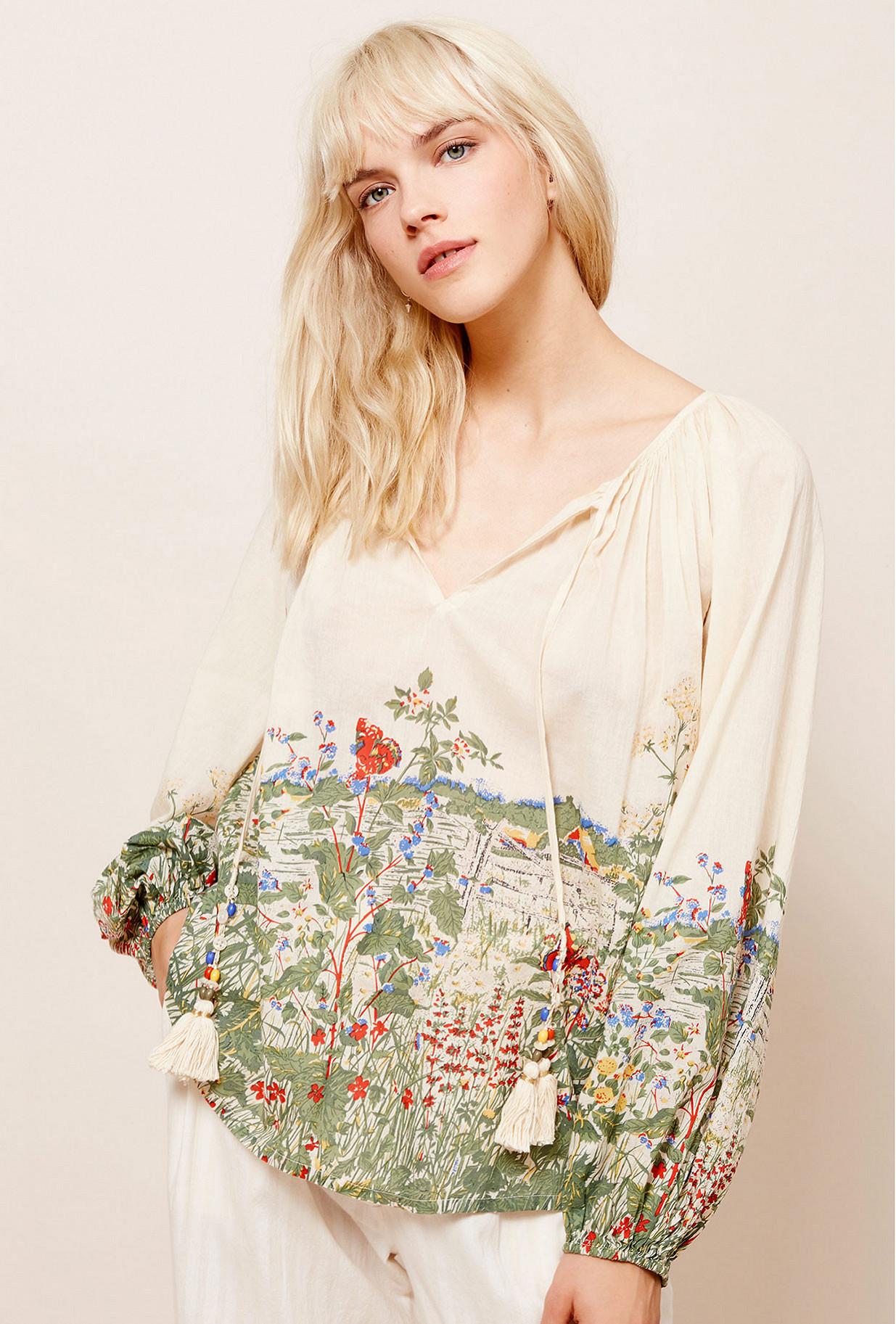 Paris boutique de mode vêtement Blouse créateur bohème  Gwenael