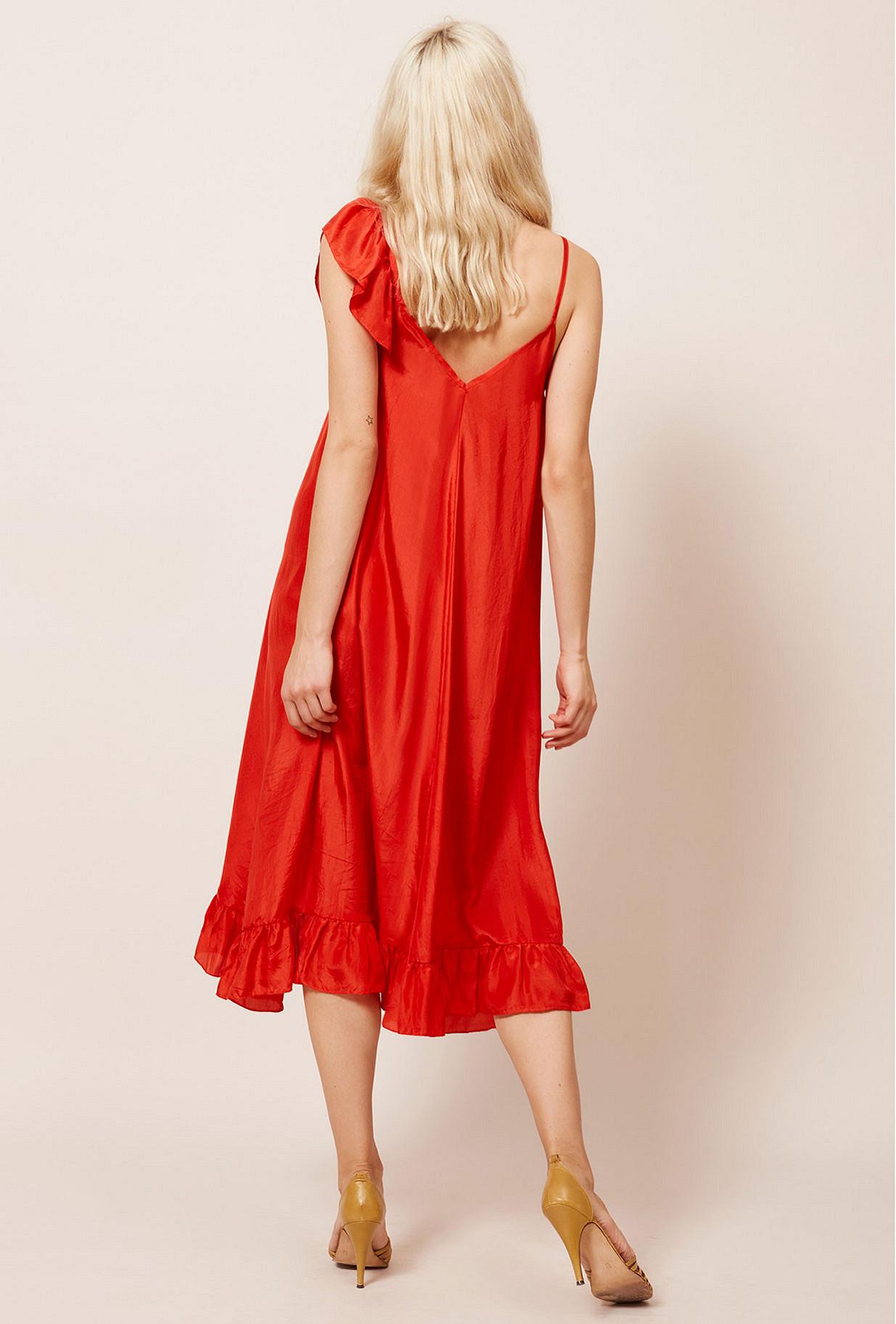 Coral  Dress  Noemie Mes demoiselles fashion clothes designer Paris