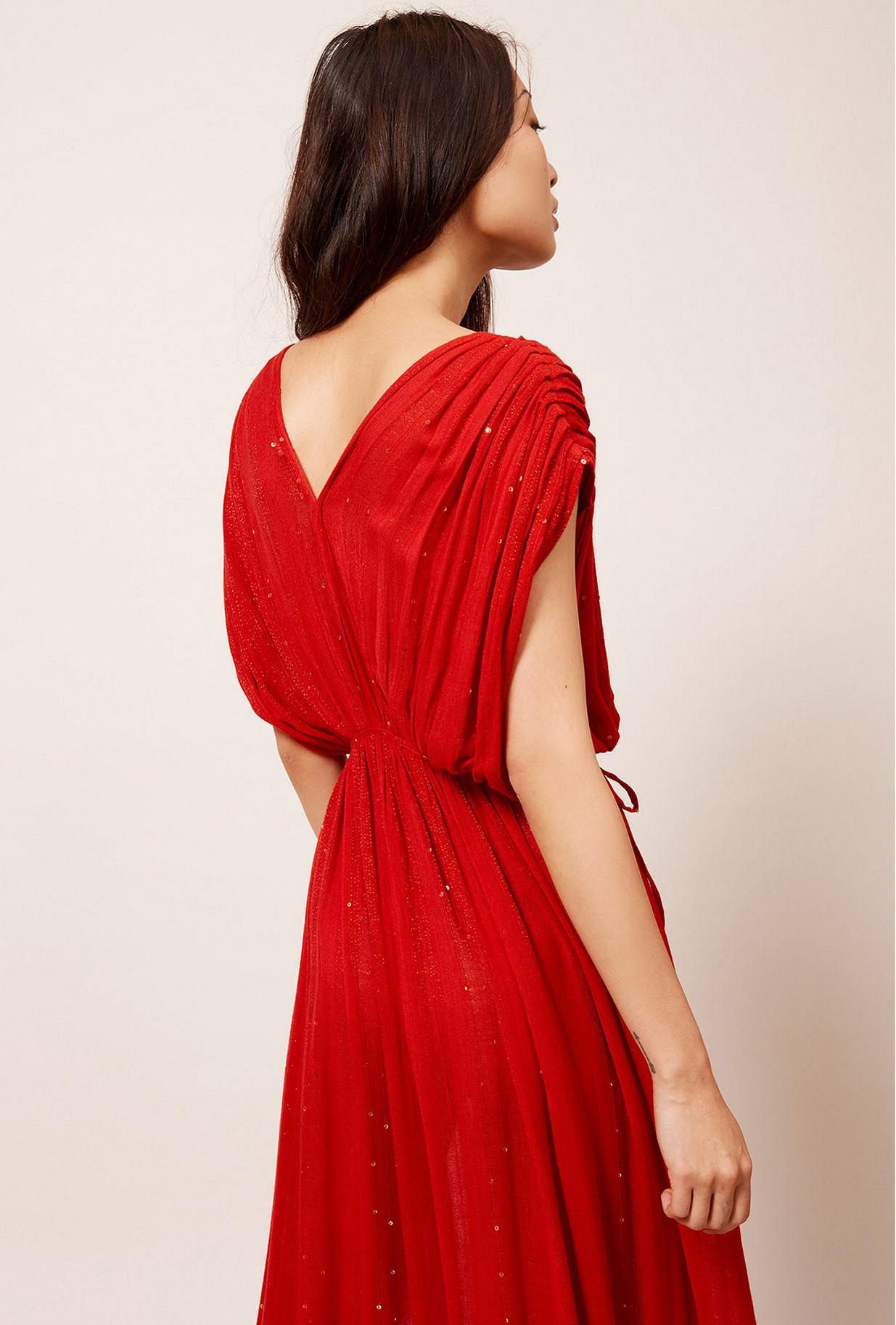 Robe Rouge  Nokomis mes demoiselles paris vêtement femme paris