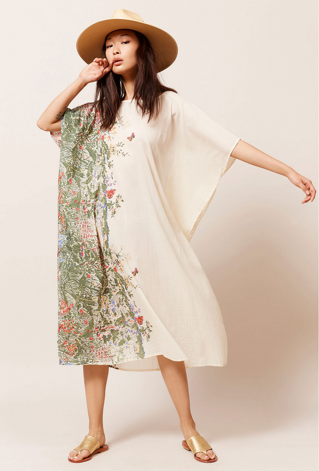 Robe Imprimé fleuri  Gwenola mes demoiselles paris vêtement femme paris