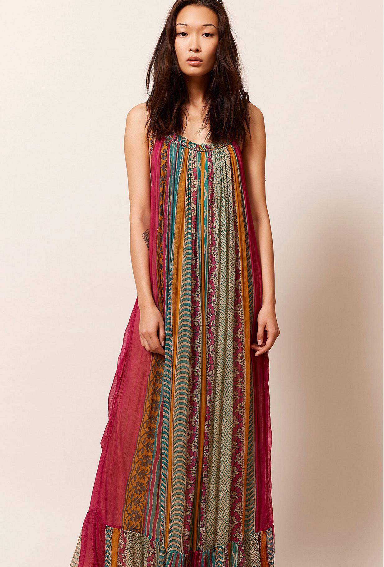 Color stripe  Dress  Guadalupe Mes demoiselles fashion clothes designer Paris