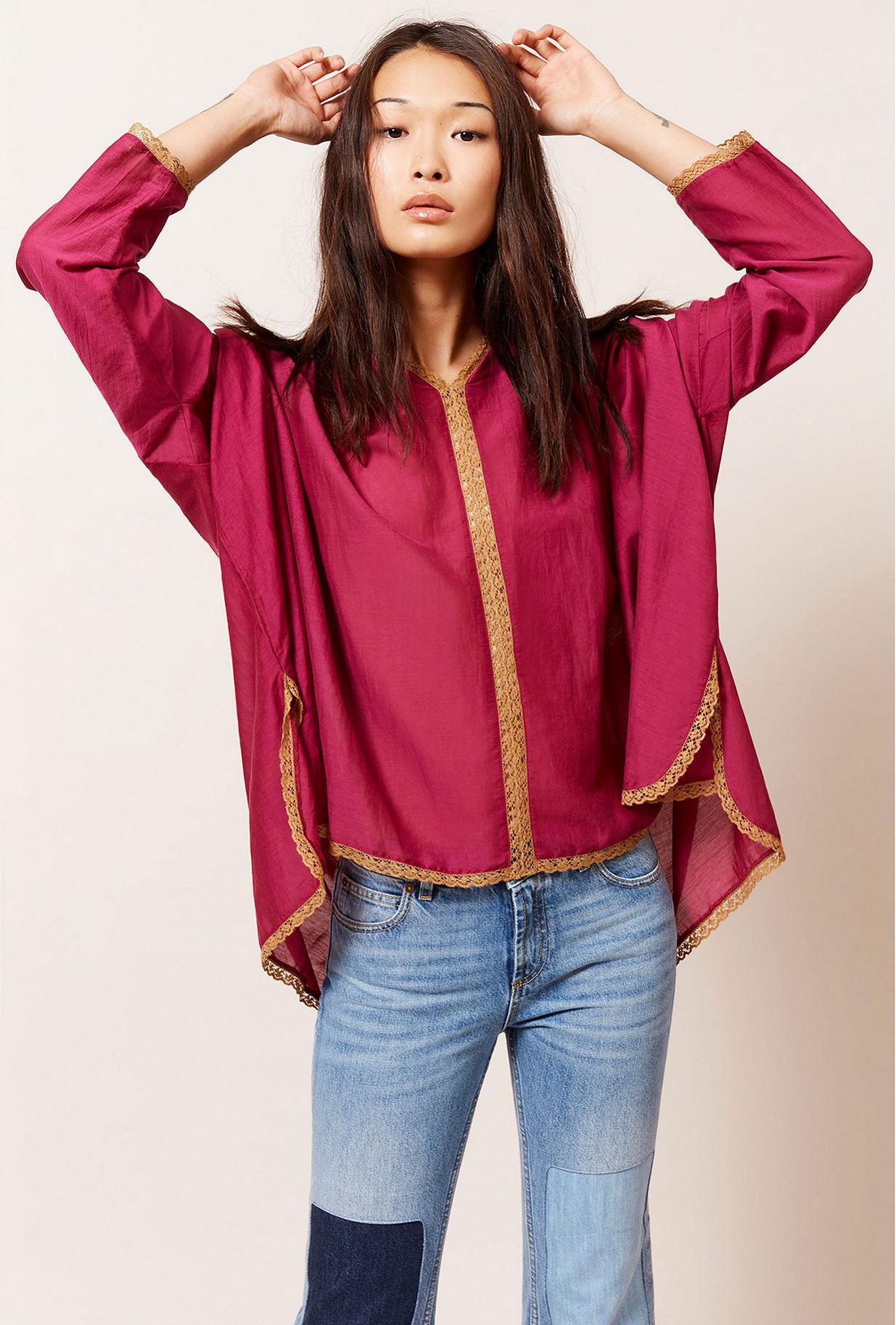 Paris clothes store Blouse  Gretta french designer fashion Paris