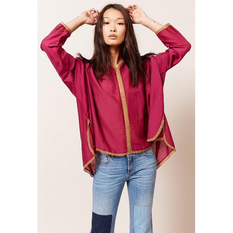 Paris boutique de mode vêtement Blouse créateur bohème Gretta