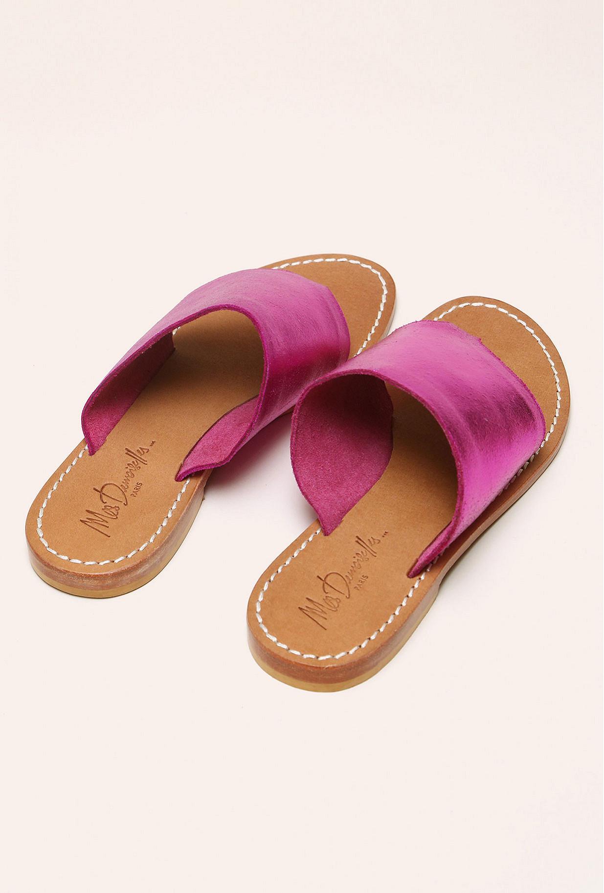 Fushia Sandals Esteban
