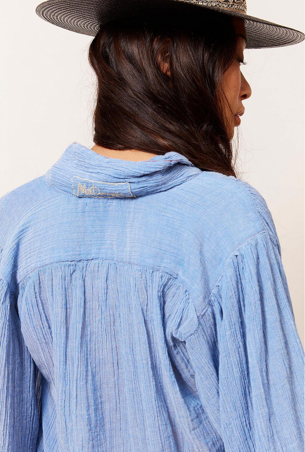 Paris boutique de mode vêtement Chemise créateur bohème  Daniel