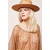 Paris boutique de mode vêtement Blouse créateur bohème  Amarante