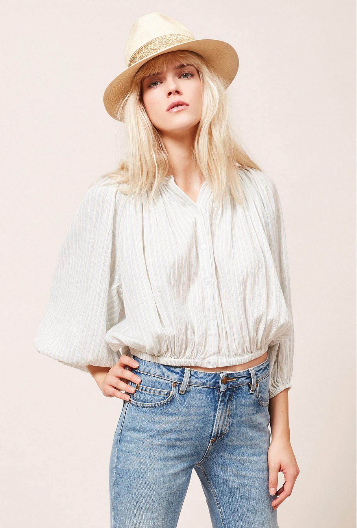 Paris boutique de mode vêtement Blouse créateur bohème  Aquarella