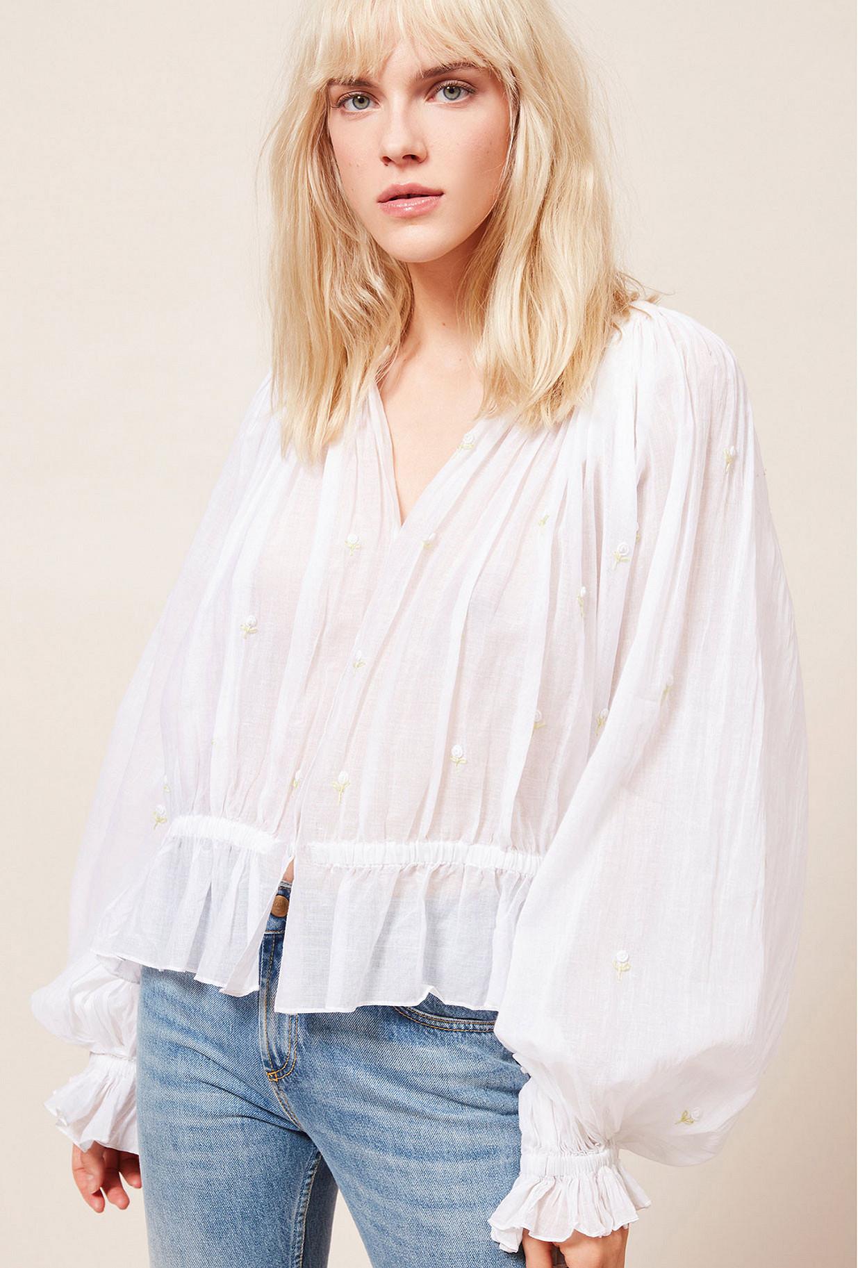 Paris clothes store Blouse  Bergamote french designer fashion Paris