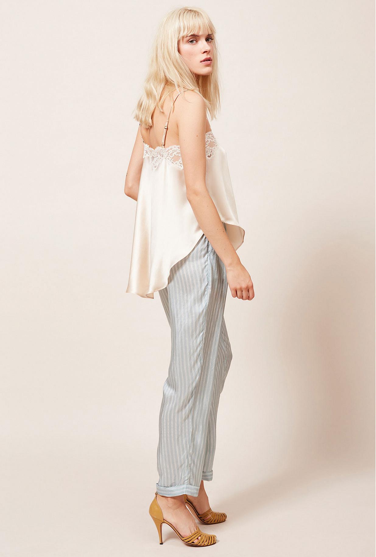 Ivory  Top  Geai Mes demoiselles fashion clothes designer Paris