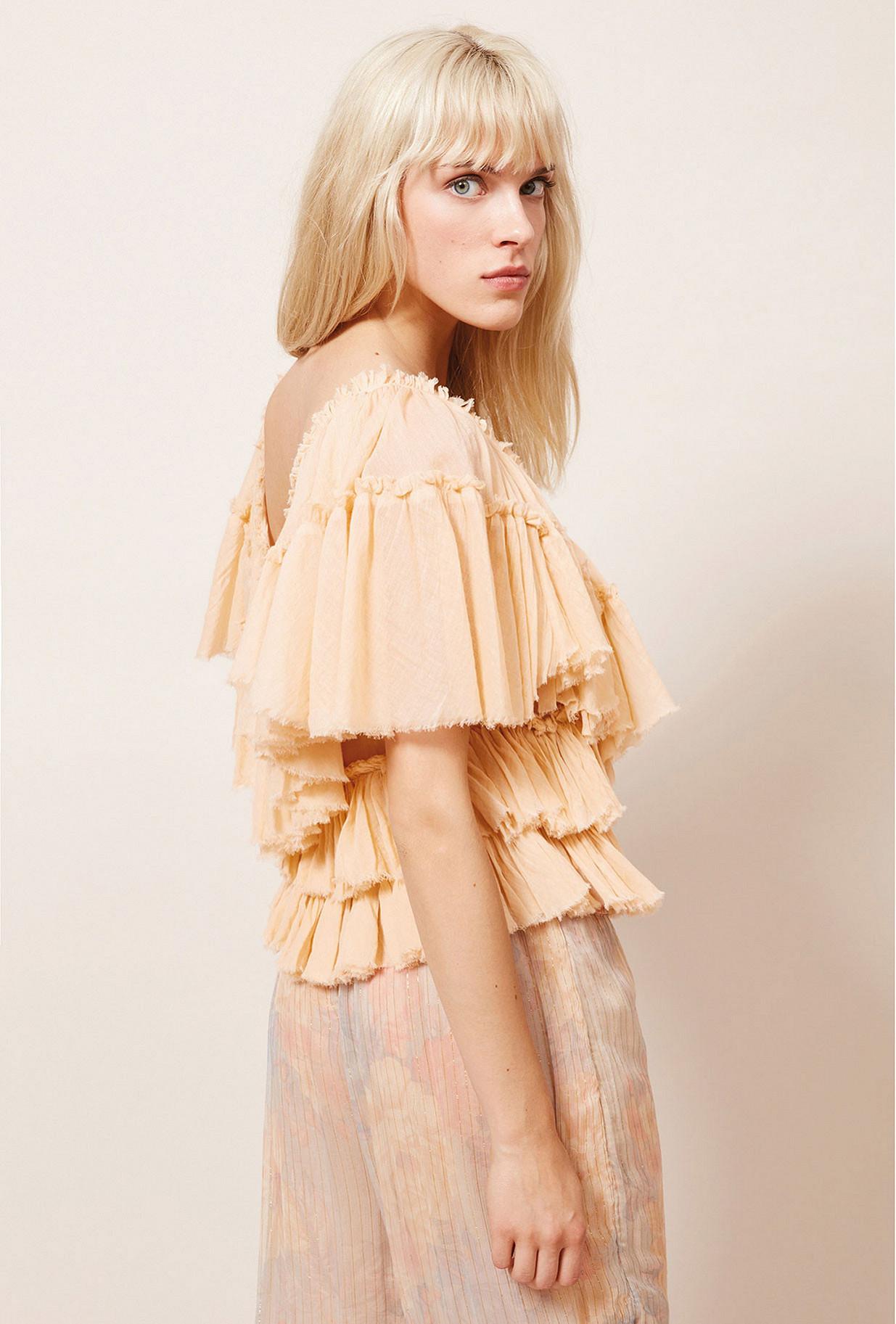 Top Rose  Orphee mes demoiselles paris vêtement femme paris