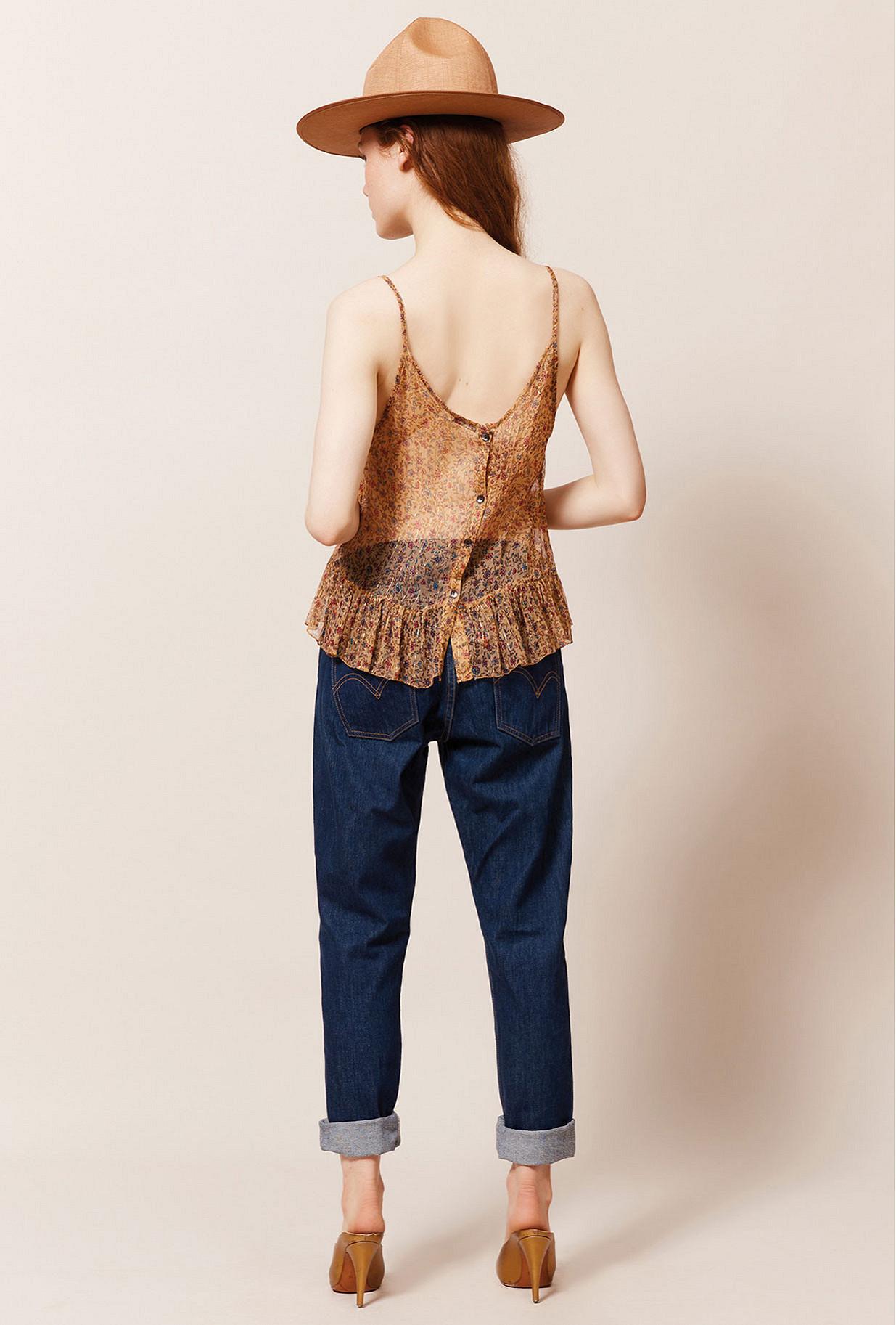 Floral print  Top  Amandine Mes demoiselles fashion clothes designer Paris