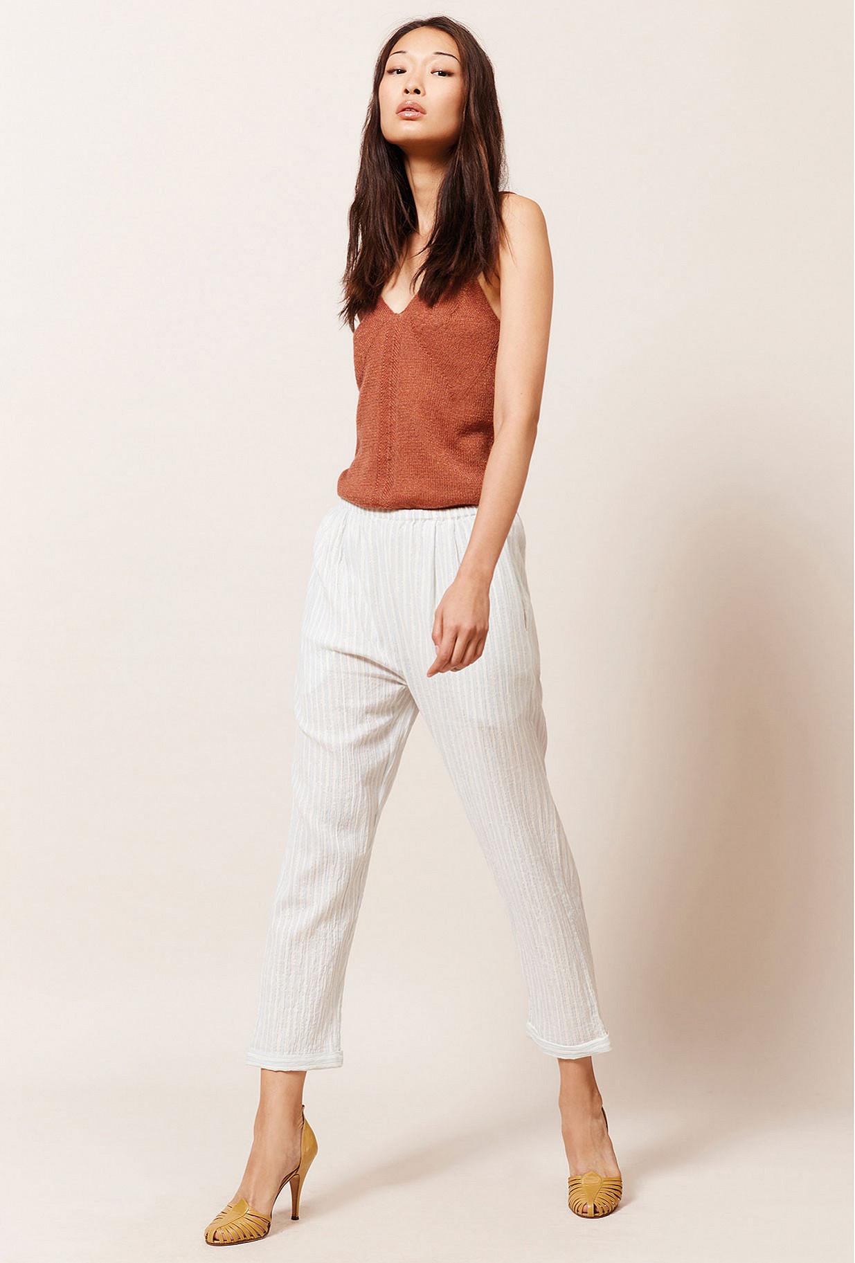 Paris boutique de mode vêtement Pantalon créateur bohème  Aquarius