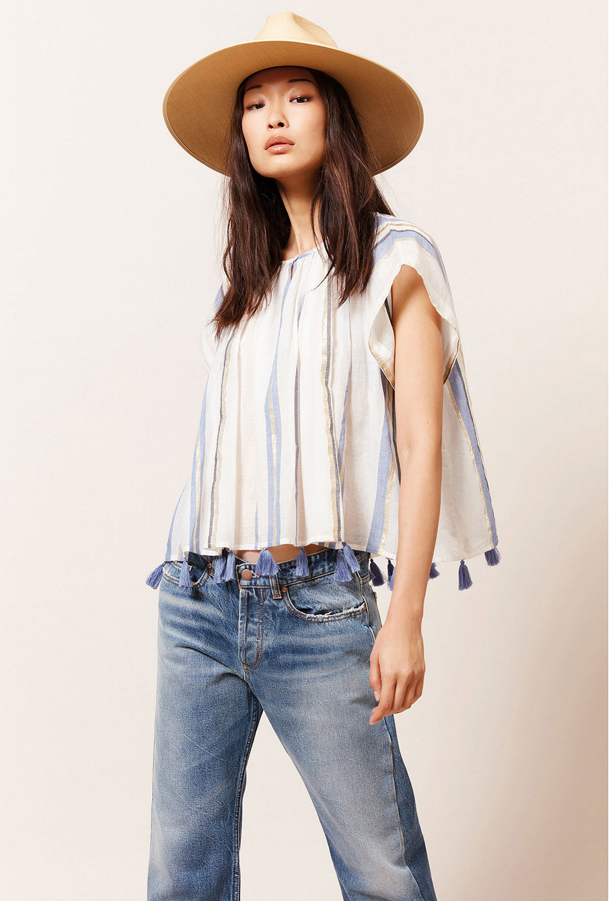 Paris boutique de mode vêtement Top créateur bohème  Azur