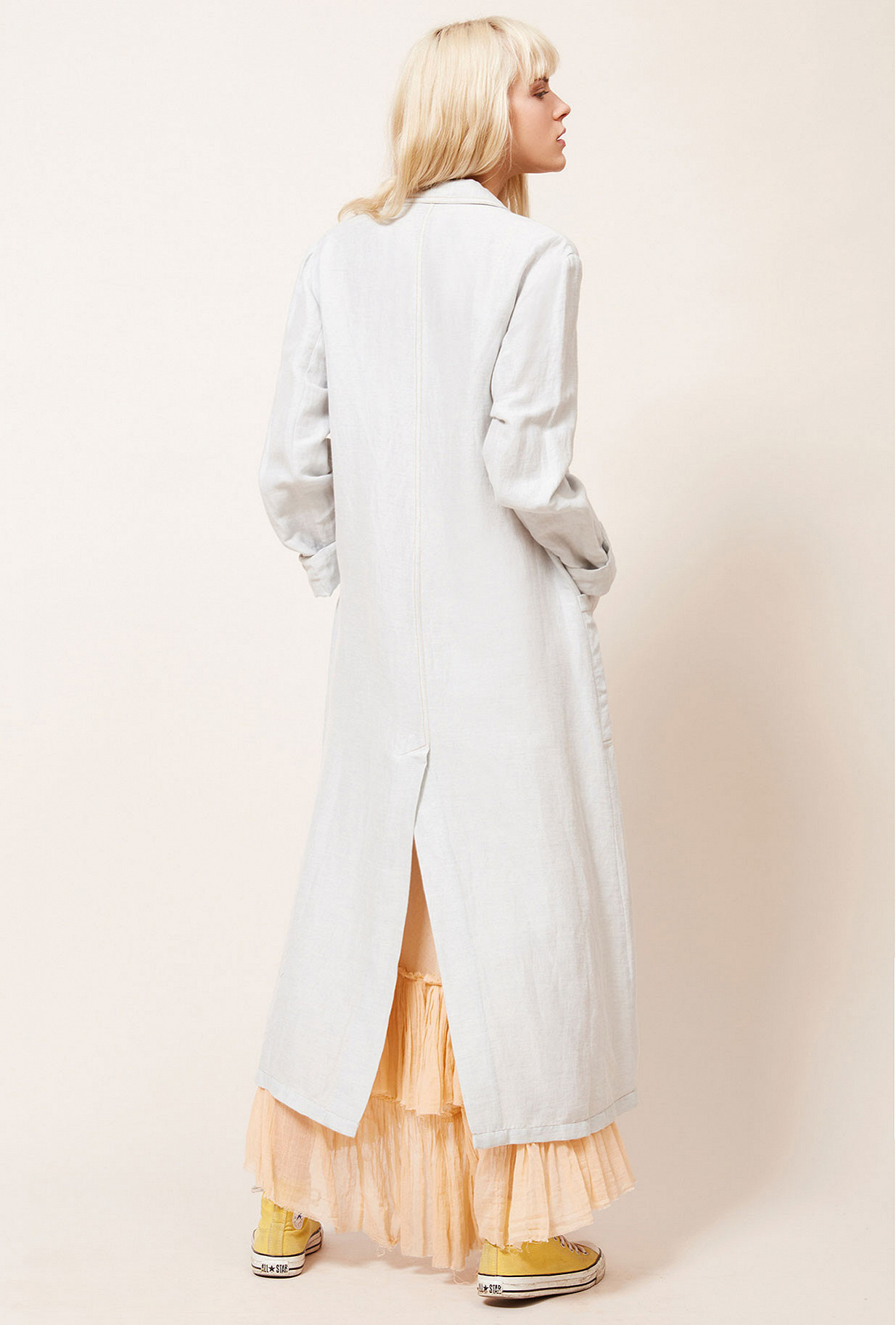 Sky blue Coat East Wood Mes Demoiselles Paris