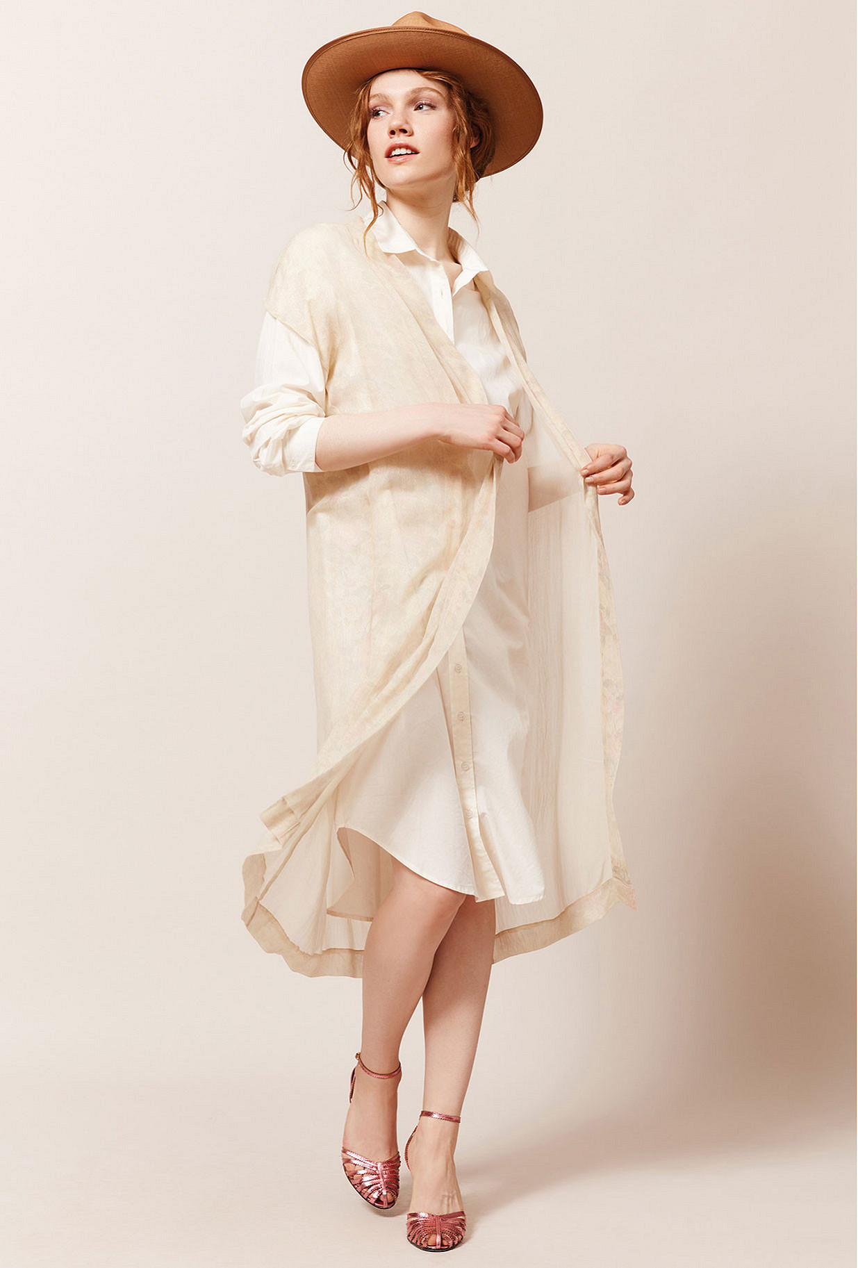 Paris clothes store Kimono  Fluid french designer fashion Paris