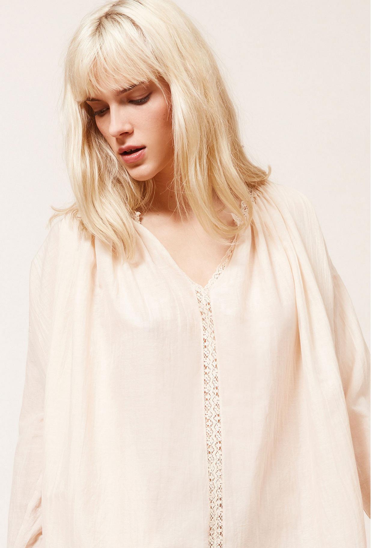 Blush  Blouse  Gretta Mes demoiselles fashion clothes designer Paris