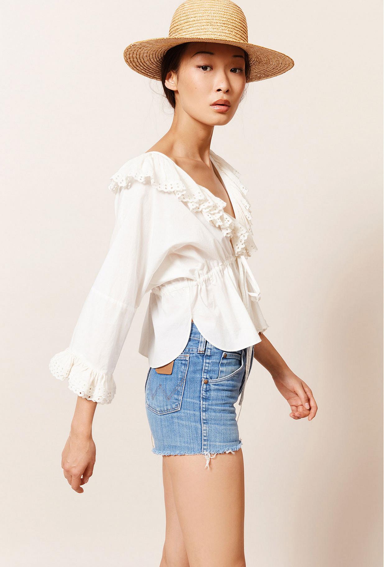 Paris clothes store Blouse  Jad french designer fashion Paris