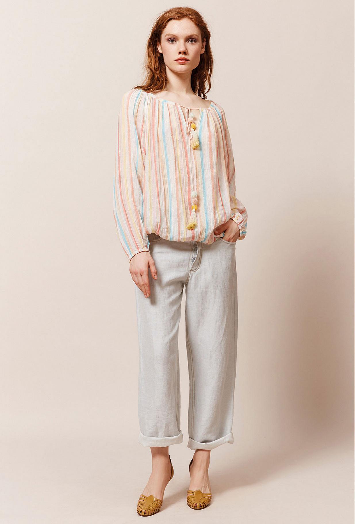 Paris boutique de mode vêtement Blouse créateur bohème  Rosita